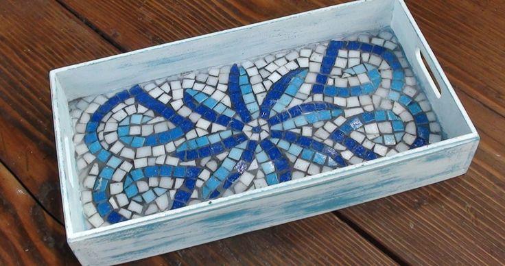Bandeja mosaico veneciano