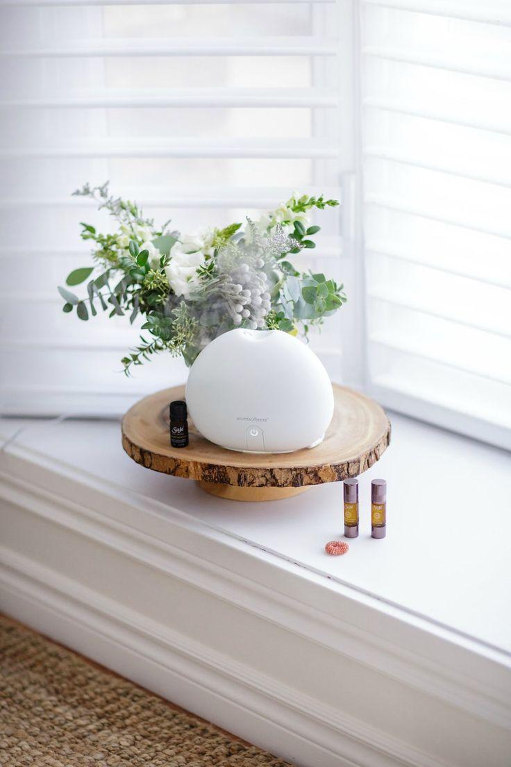 Saje wellness essential oils Room Diffuser White Living room