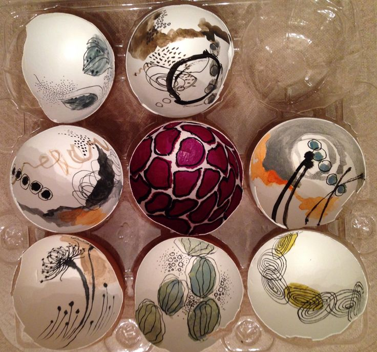 painted egg shells art without waste pinterest