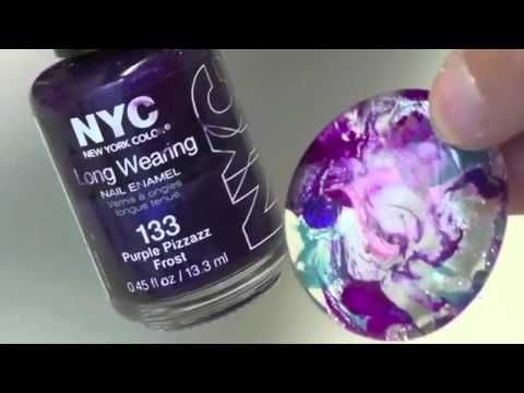 Homemade crafts recycle nail polish jewelry craft tutorial for Crafts using nail polish
