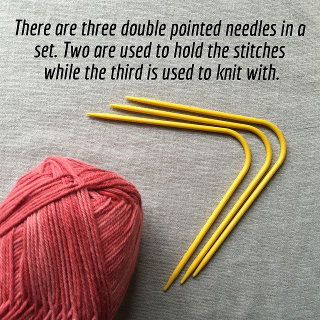Knitting with Neko v-shaped double pointed sock needles - Crafts from the Cwtch