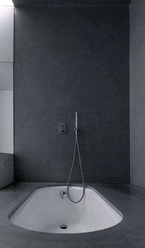 Modern bath tub inspiration by COCOON | freestanding bath tubs | solid surface | sturdy stainless steel bathroom taps | bathroom design | renovations | interior design | villa design | minimalist design products | Dutch Designer Brand COCOON