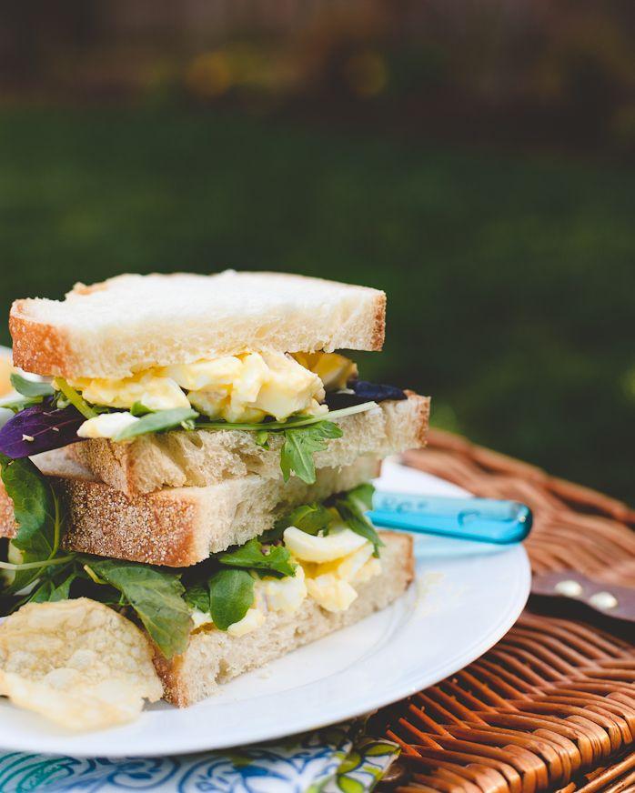 Egg Salad Sandwich | sammies | Pinterest