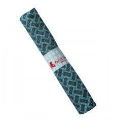 Coupon pur coton GRANIT BLEU ARDOISE - 75 x 50 cm - Petit Pan