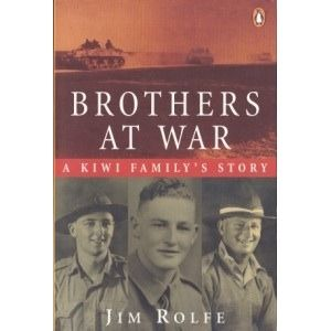 The exploits of the Rolfe Brothers - Jim, Reg and Jack - cover between them most of the campaigns in which Kiwi soldiers fought. See if it is available: http://www.library.cbhs.school.nz/oliver/libraryHome.do