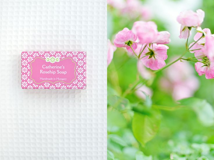 Catherine's Rosehip Soap from Catherine's Vineyard Cottages in Csákberény, Hungary.