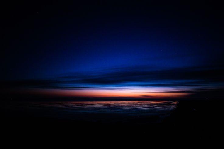 Langzeitbelichtung bei Sonnenuntergang!