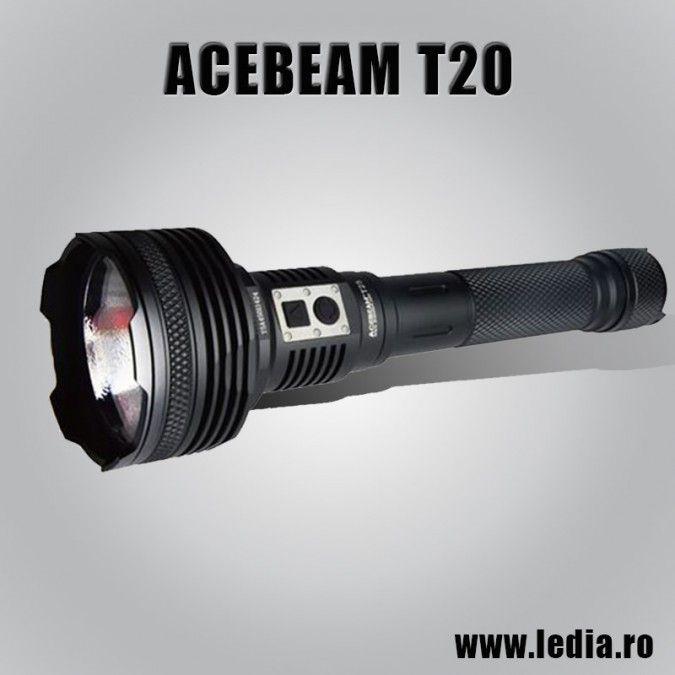 LANTERNA LED ACEBEAM T2O CREE XP-L HI