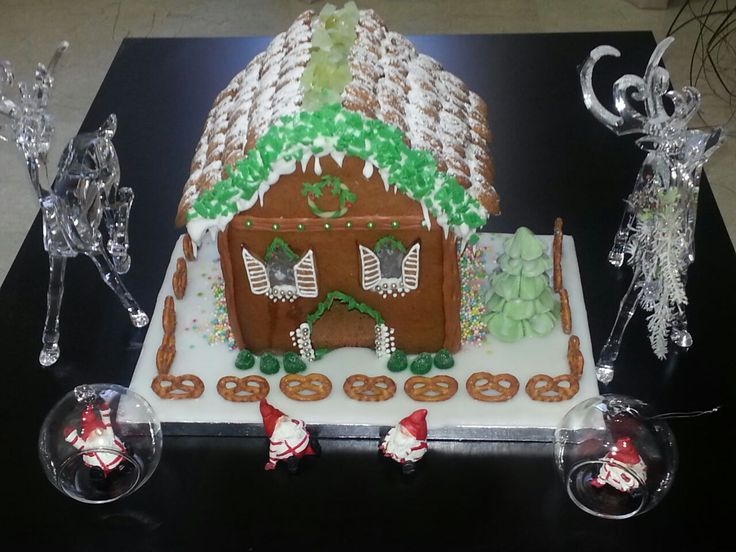 """gingerbread house by """" I dolcetti di Floriana"""""""