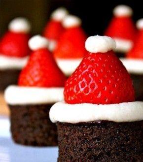 schattige cakejes voor kerst