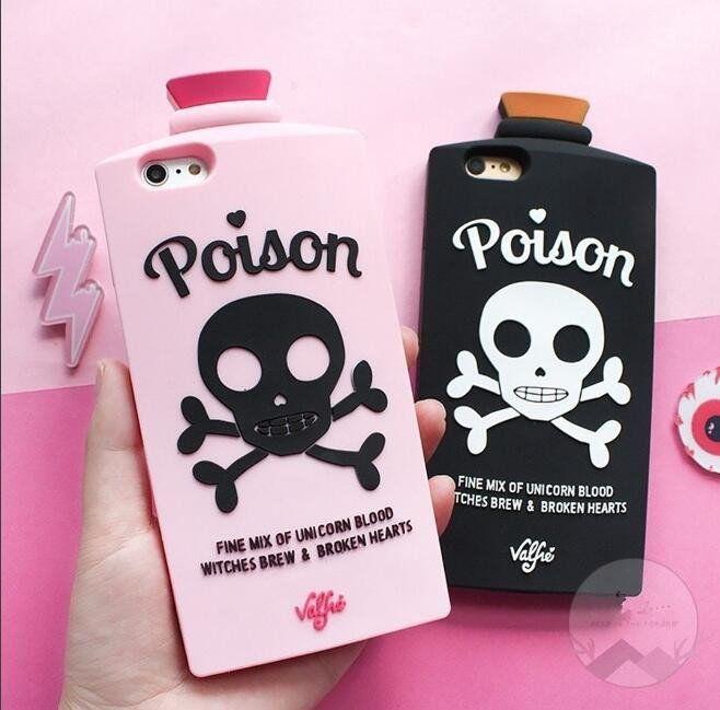 "Soooo cute wish it would fit my phone-Lovely harajuku skulls iphone case SE9601    Coupon code ""cutekawaii"" for 10% off"