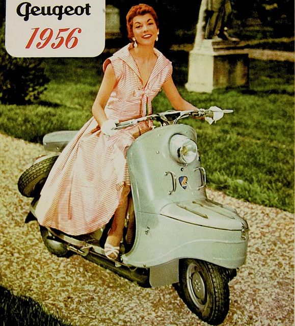 1956 Peugeot Scooter