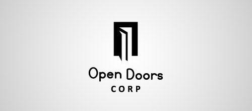 open doors logo designs