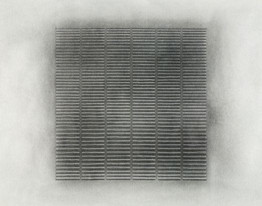 "untitled (#1 graphite) 2011_04_13    untitled, (#1 graphite) line studies  2011_04_13  ink and graphite over graphite wash on paper  18"" x 24""  Matt Niebuhr"