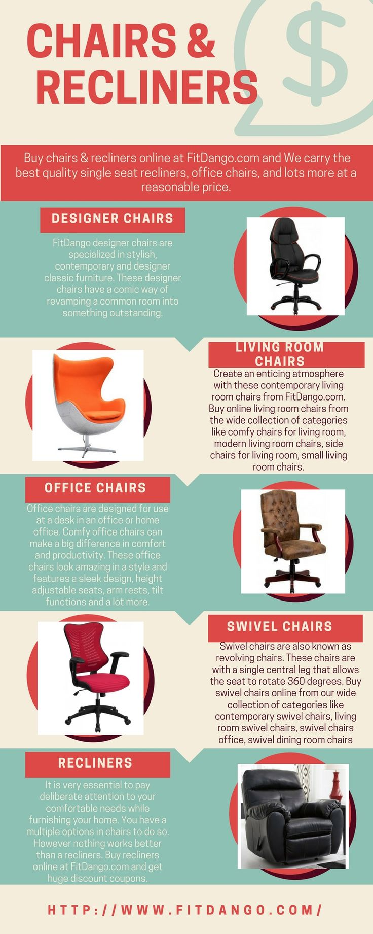 Choosing the right reclining furniture for your home is a big task? Then, here at FitDango, we help you to find the best chairs & recliners at an affordable price.