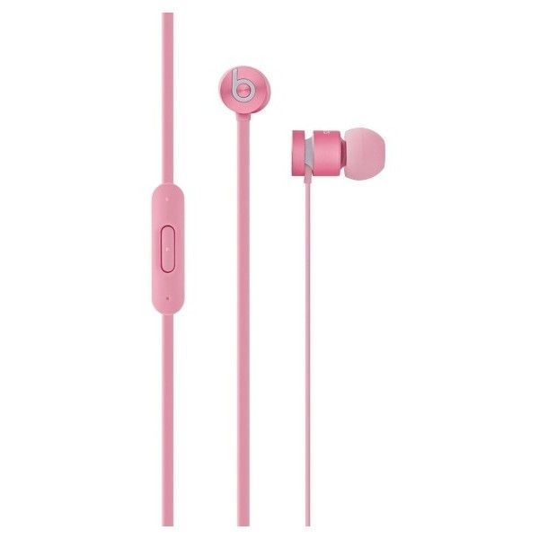 urBeats In-Ear Headphones Nicki Minaj Pretty in Pink ($99) ❤ liked on Polyvore featuring accessories, tech accessories, pink headphones and nicki minaj