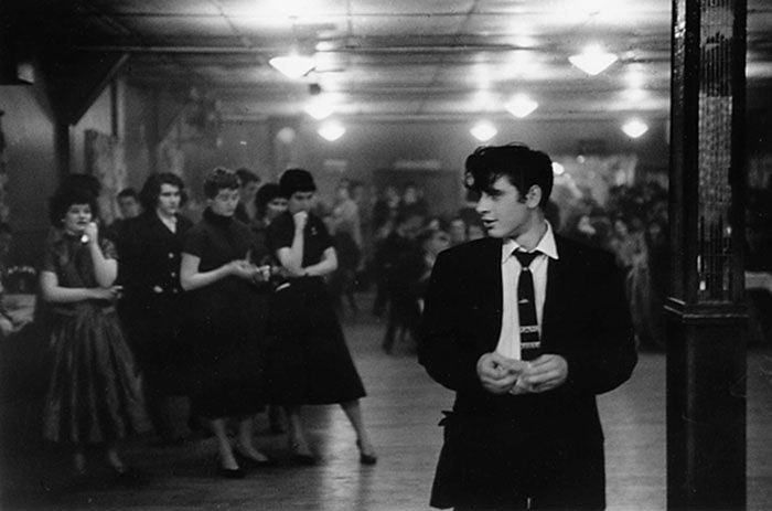 Love some of the documentary stuff from this era. (Photo by George S Zimbel. )