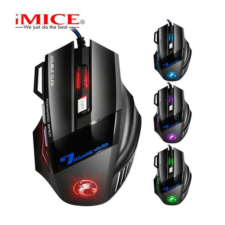Wired Gaming Mouse 7 Buttons LED Optical USB Gamer Mouse //Price: $13.76     #instatech