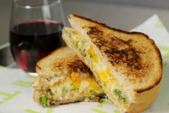 Lump Crab Meat Recipes | Blue Crab Grilled Cheese Recipe | RECIPE CORNER