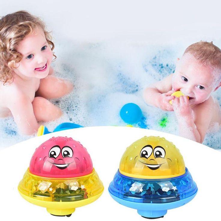Children electric induction sprinkler water spray toy