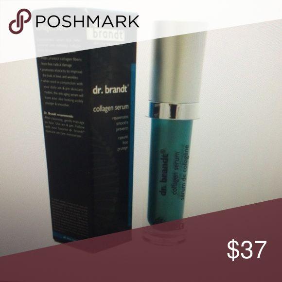 Dr Brandt collagen serum New in box retail $78.00 dr brandt Makeup