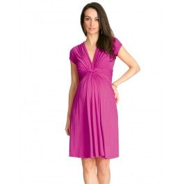 Fuchsia Knot Front Seraphine Dress worn by Kate Middleton!