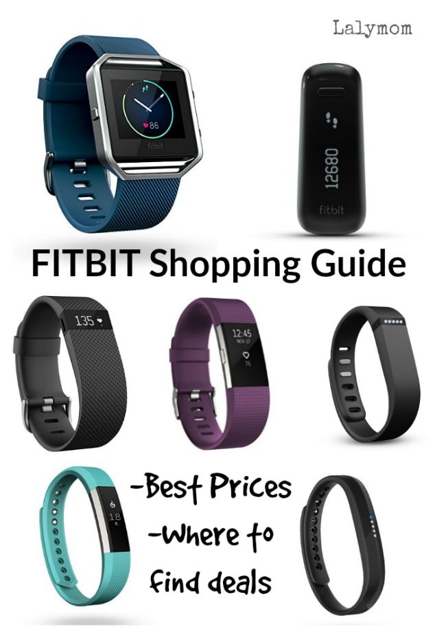 Fitbit Buyers Guide- Fitness Trackers for the whole family! Find out where to buy fitbit on sale and historical best fitbit prices for every model.