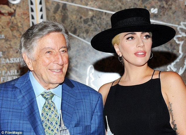 On the road again:Her last tour was from late 2014 through August 2015 as she was on the Cheek To Cheek Tour alongside legendary crooner Tony Bennett, as they are pictured together in New York back in August