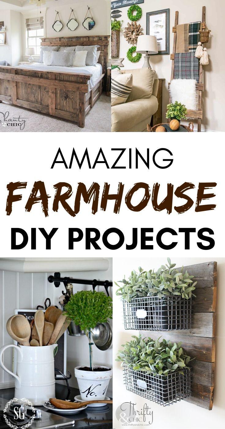 22 Amazing Diy Farmhouse Decorating Ideas Diy Farmhouse Decorating Ideas Farmhouse Diy Projects Farmhouse Decor
