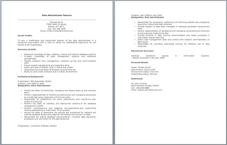Chief Administrative Officer Resume Sample \u2013 Best Format