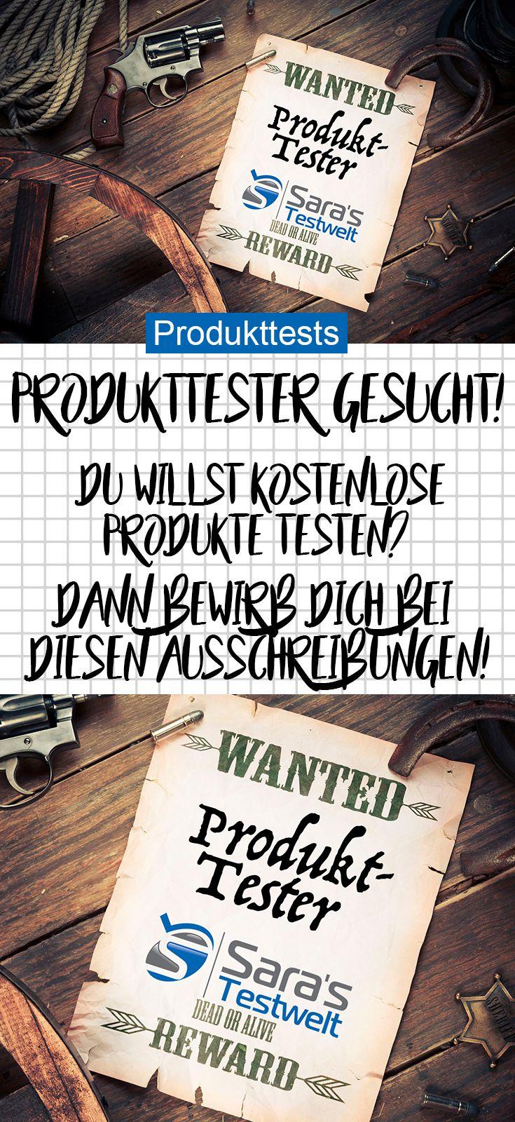 Du willst Produkttester werden? Wenn du dich bei diesen Produkttest-Ausschreibungen bewirbst, kannst du kostenlose Produkte testen.