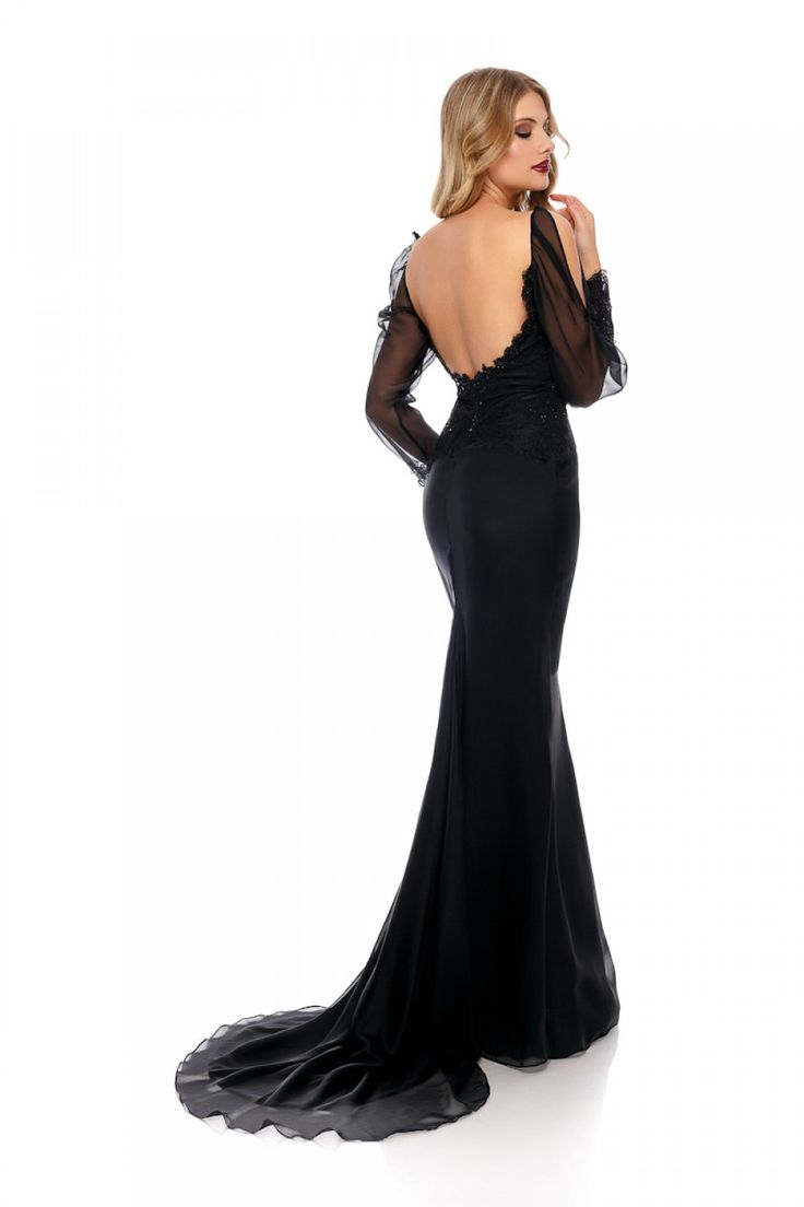 Black will always be a good option. But this dress is..the best option! TIANA evening dress by Athena Philip >>> www.athenaphilip.ro