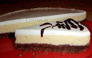 Show details for Recept - Cheesecake z lučiny a zakysané smetany