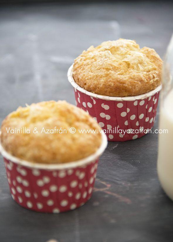 Muffins de mango, avena y yogurt