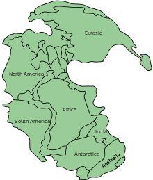 Pangaea—300 million years ago