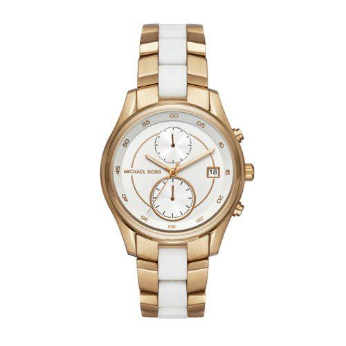 Michael Kors Womens Briar GoldTone Watch MK6466 * You can get more details by cl...