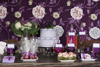 17 best ideas about purple dessert tables on pinterest purple candy bar wedding candy table - Decoratie opgeschort wc ...