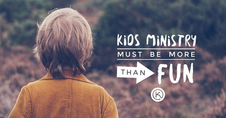 Why your kids ministry must be more than fun. How can we create depth in our children's programs?