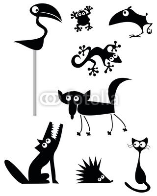 Animal Silhouettes                                                                                                                                                                                 Más