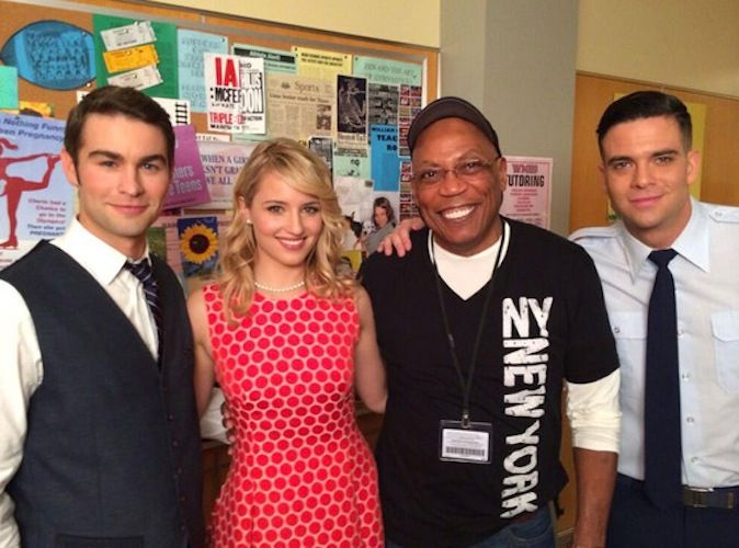 Dianna Agron Returns to 'Glee' With Chace Crawford