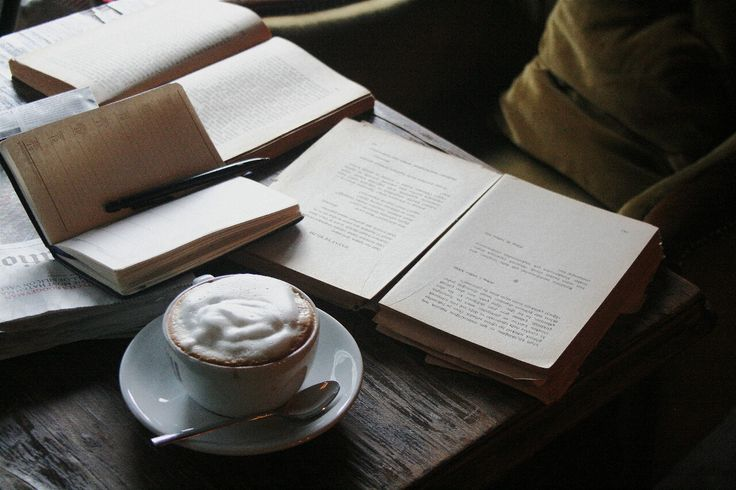 Coffee & book shops & Paris.