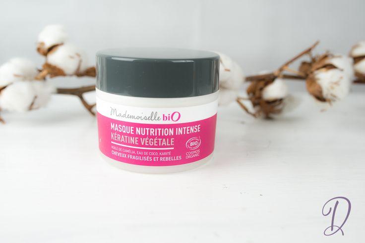 Mademoiselle bio | Masque nutrition kératine végétale bio