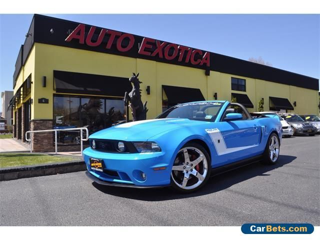 2010 Ford Mustang GT Convertible 2-Door #ford #mustang #forsale #unitedstates