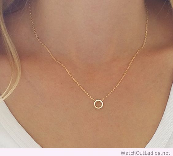 Dainty minimal necklace                                                                                                                                                                                 More