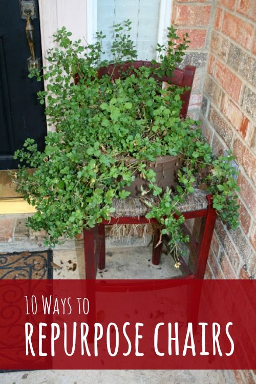 10 Ways to Repurpose Old Chairs