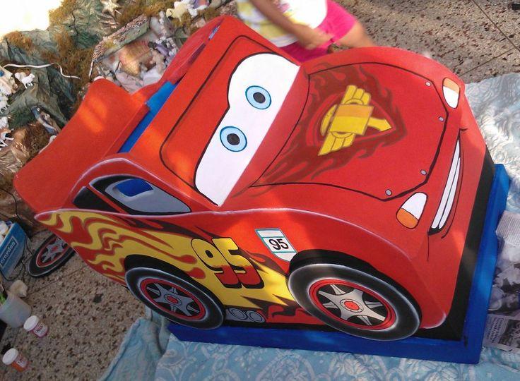 Ba l de juguetes rayo mcqueen lightning mcqueen cars - Juguetes cars disney ...