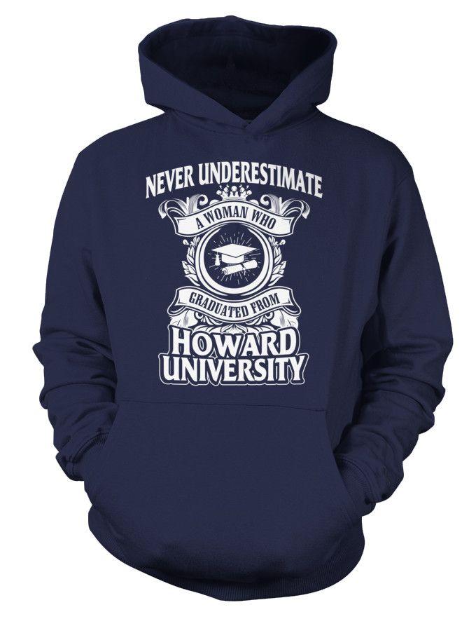Howard University sweatshirt