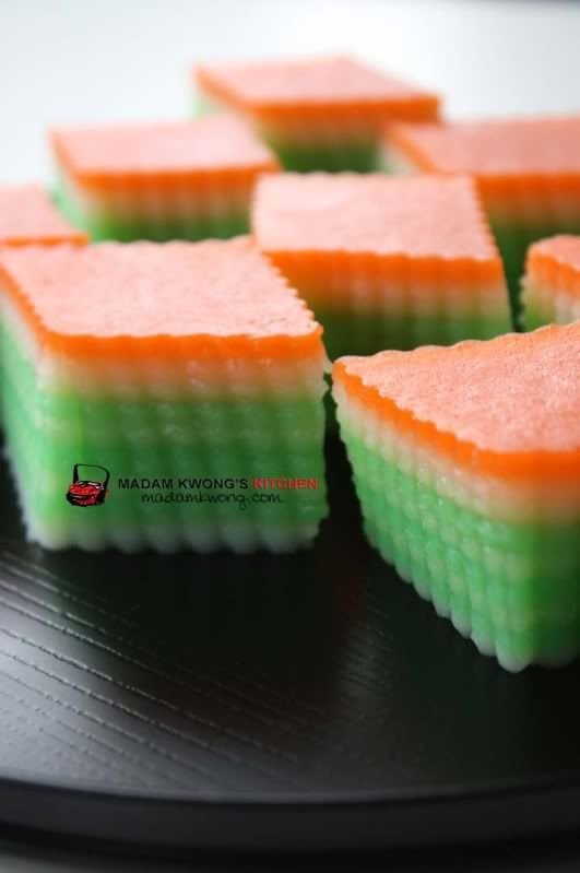 » Kuih Lapis recipe Madam Kwong's Kitchen