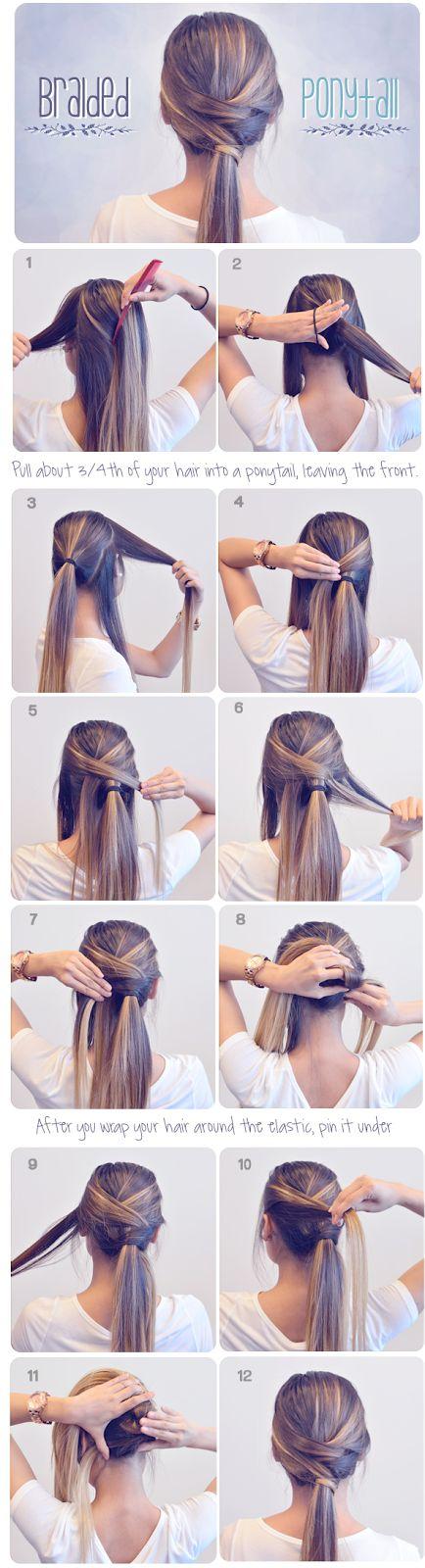 How To Make Braided Ponytail - Tutorial ~ Entertainment News, Photos & Videos - Calgary, Edmonton, Toronto, Canada