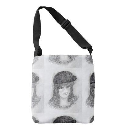 #Flipped Hair Flapper Crossbody Bag - #deco #gifts